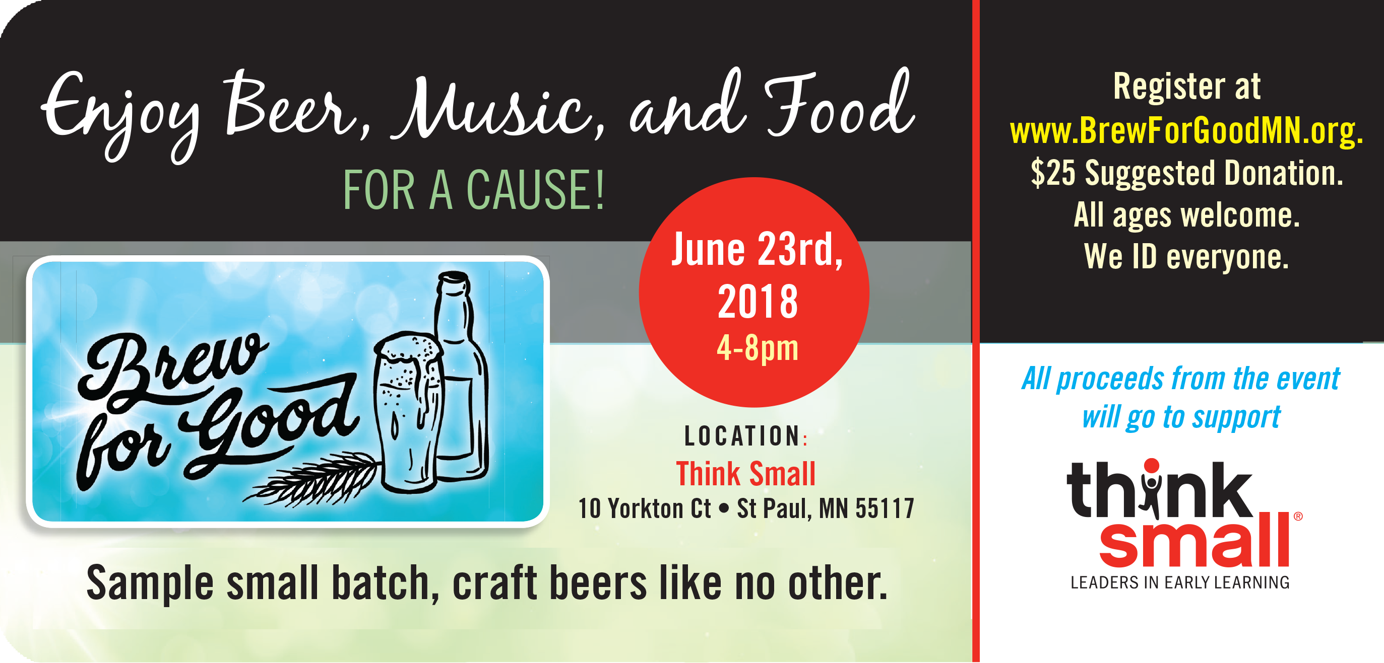 Brew for Good -- Enjoy Beer, Music, and Food