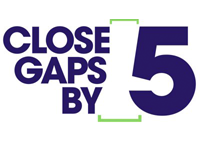 Close Gaps by Five logo