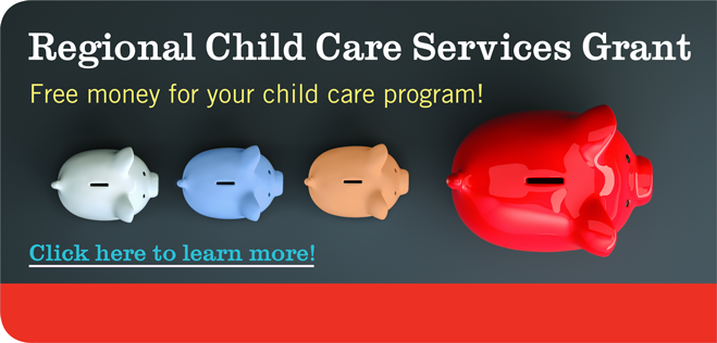 Regional Child Care Services Grant Home Slide