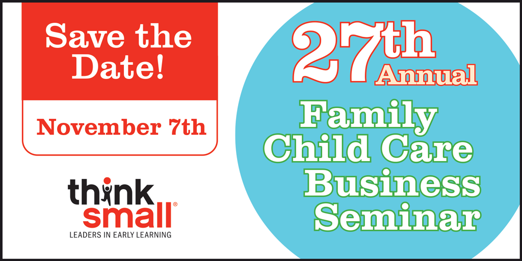 Save the Date for the 2020 Family Child Care Business Seminar