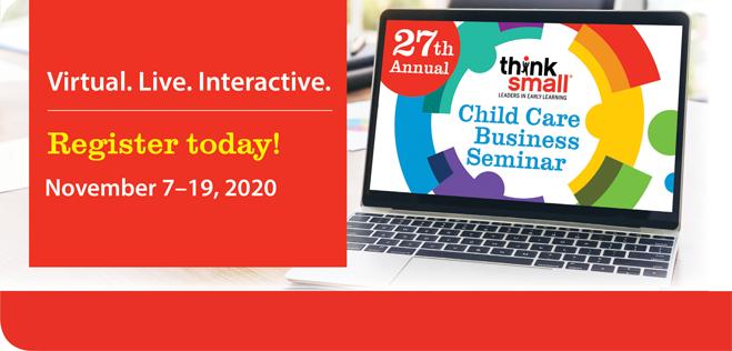 27th Annual Think Small Child Care Business Seminar