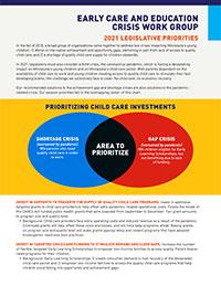 2021 Legistlative Priorities